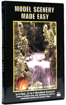 Woodland Scenics WR973  Model scenery made easy (DVD)