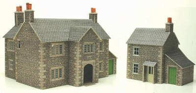 Metcalfe PO250  Manor farm house