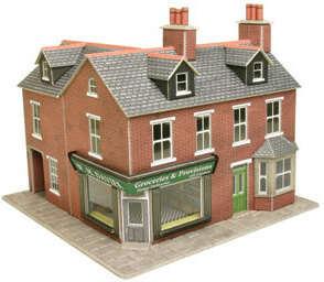 PO263  Corner shop (brick)