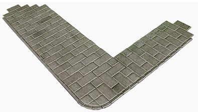 PO210  Self adhesive paving slabs