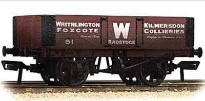 37-065  5 Plank wagon 'Writhlington' (weathered)