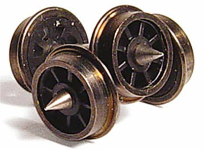 379-411  'N' scale Spoked wagon wheels (Graham Farish)