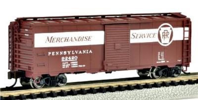 17052  40' Box car 'PRR Merchandise Service'