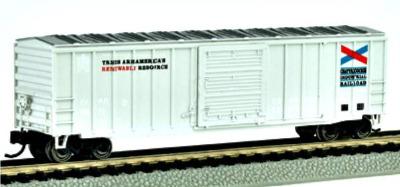 19655  50' Outside braced sliding door box car 'Chattahoochee Industrial Ra