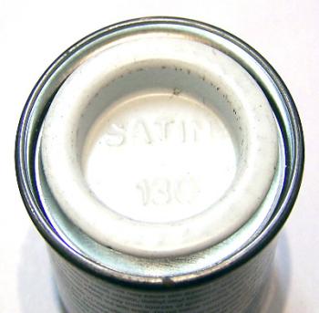 Humbrol 130  (Satin) Enamel    White  AA1434