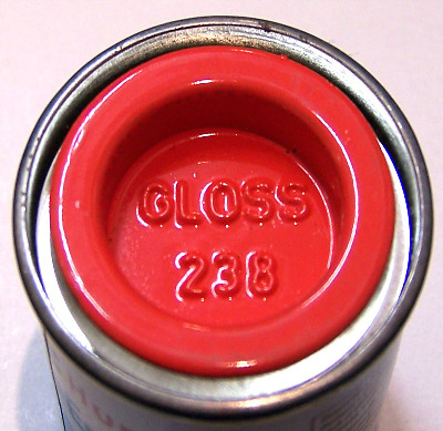 Humbrol 238  (Gloss) Enamel   Arrow Red AA0238