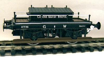 38-675  GWR Shunters Truck 'Canons Marsh Bristol' 41736