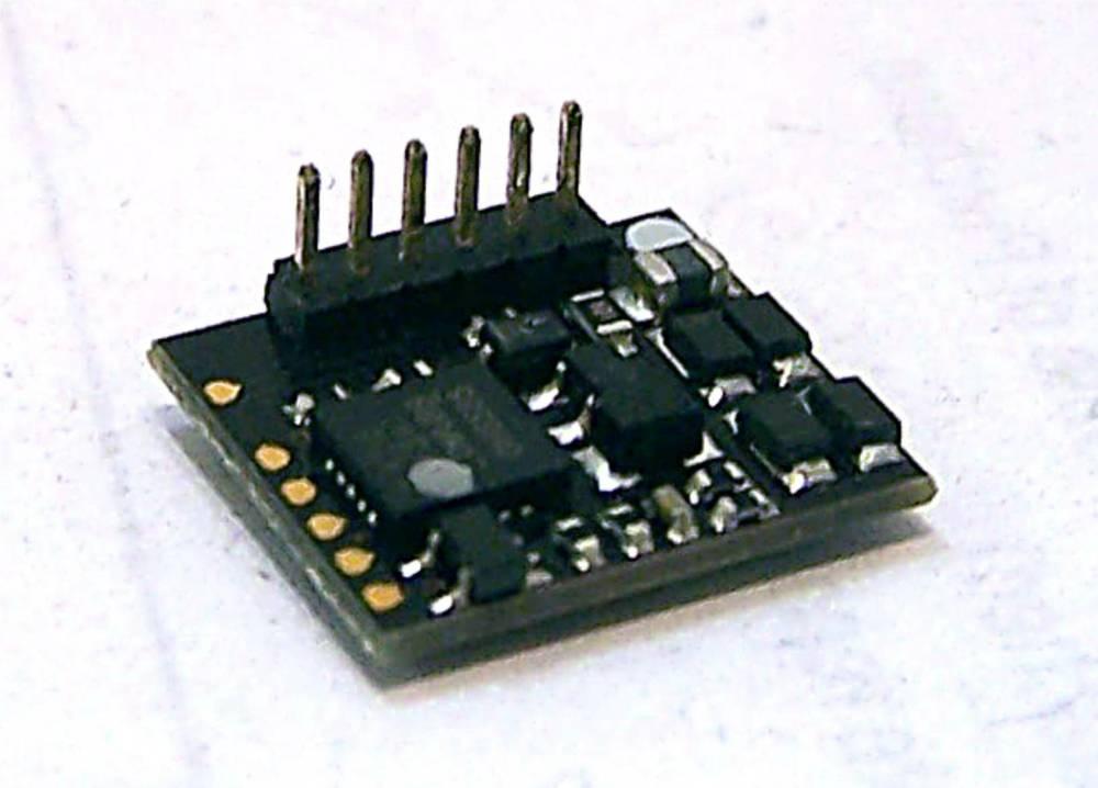 36-556RA   90°6 Pin DCC Decoder (DC Compatible)