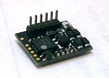 Bachmann 36556RA   90°6 Pin DCC Decoder (DC Compatible)