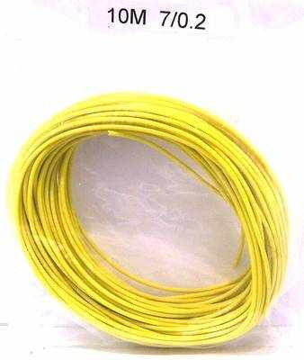 Wire 7/0.2  Yellow  x 10 metres