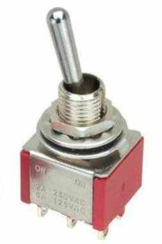 DPDT   Switch for solenoid point motors