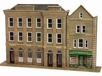 Metcalfe PO271  Low relief Bank & Shop