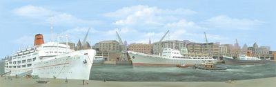 SK20  Dock centre 'O' (large)