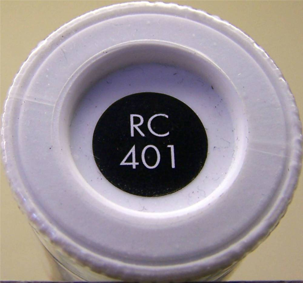 RC401 Dirty Black Matt - 14ml Acrylic Rail Colour Paint - AB2401