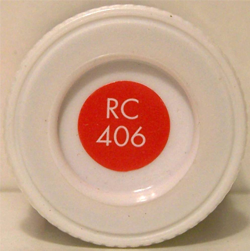 RC406 Buffer Beam Red Matt - 14ml Acrylic Rail Colour Paint - AB2406