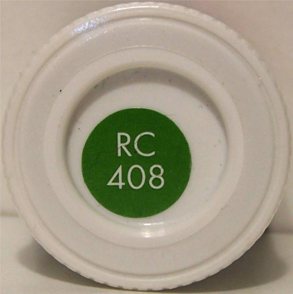 RC408 Apple Green Matt - 14ml Acrylic Rail Colour Paint - AB2408