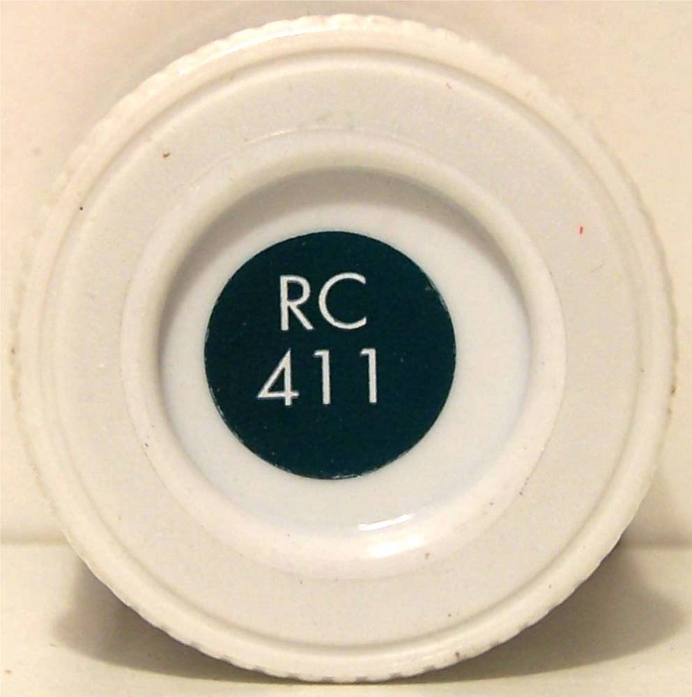 RC411 Diesel Blue Matt - 14ml Acrylic Rail Colour Paint - AB2411