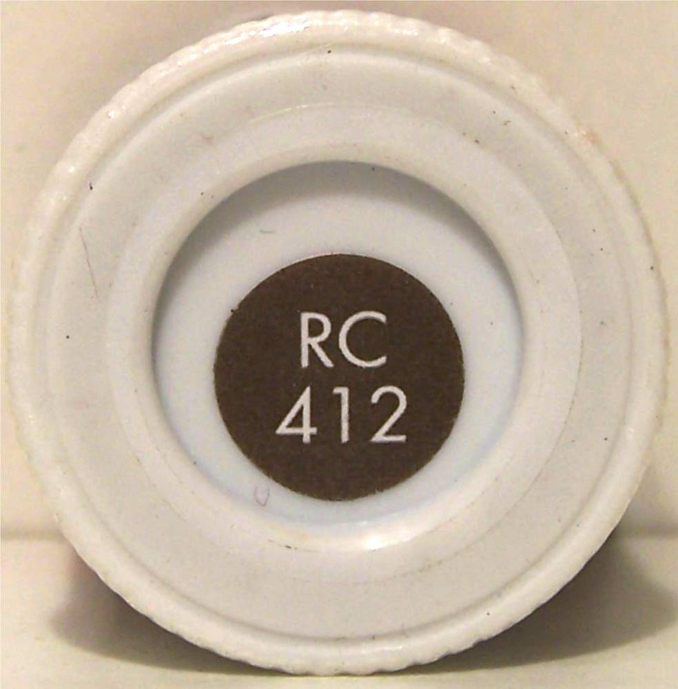 RC412 BR Coach Roof Grey Matt - 14ml Acrylic Rail Colour - AB2412
