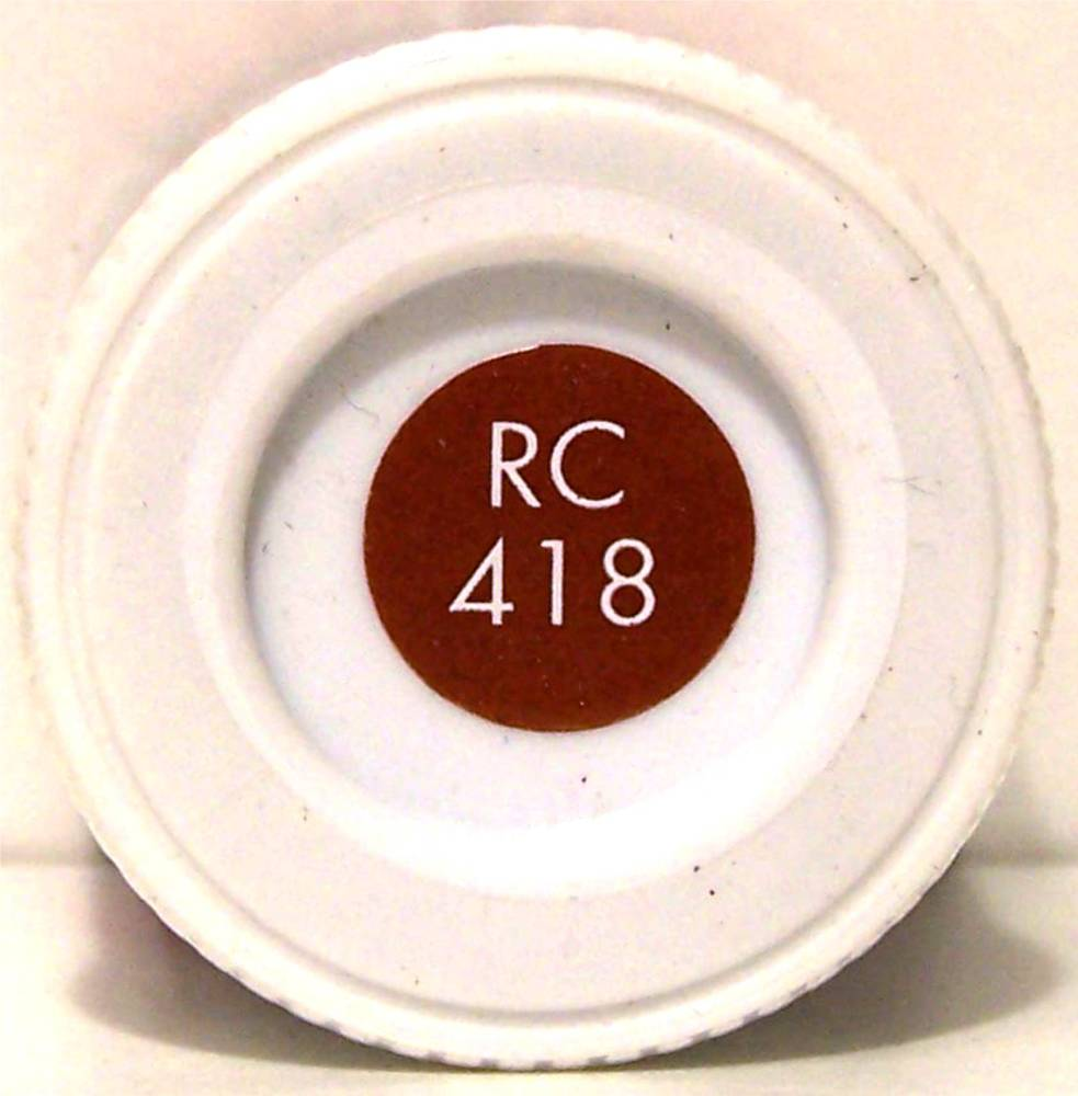 RC418 EWS Red Matt - 14ml Acrylic Rail Colour Paint - AB2418