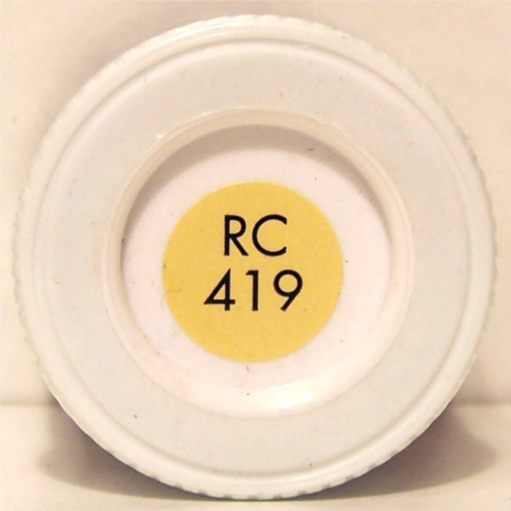 RC419 EWS Yellow Matt - 14ml Acrylic Rail Colour Paint - AB2419