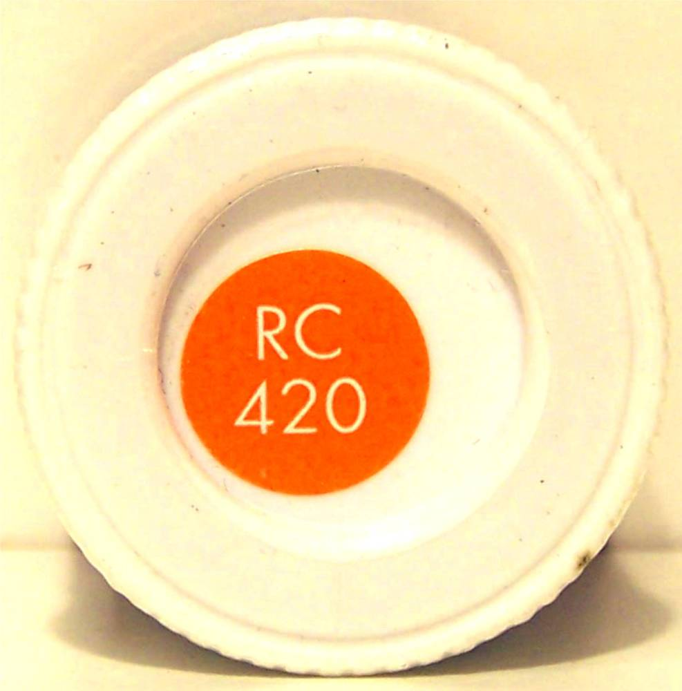 RC420 Orange Lining Matt - 14ml Acrylic Rail Colour Paint - AB2420