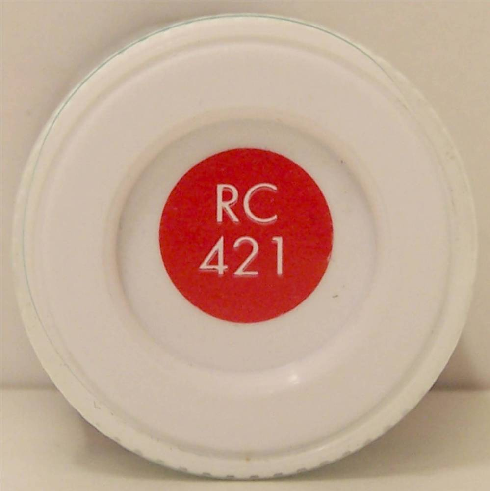 RC421 Virgin Red Matt - 14ml Acrylic Rail Colour Paint - AB2421