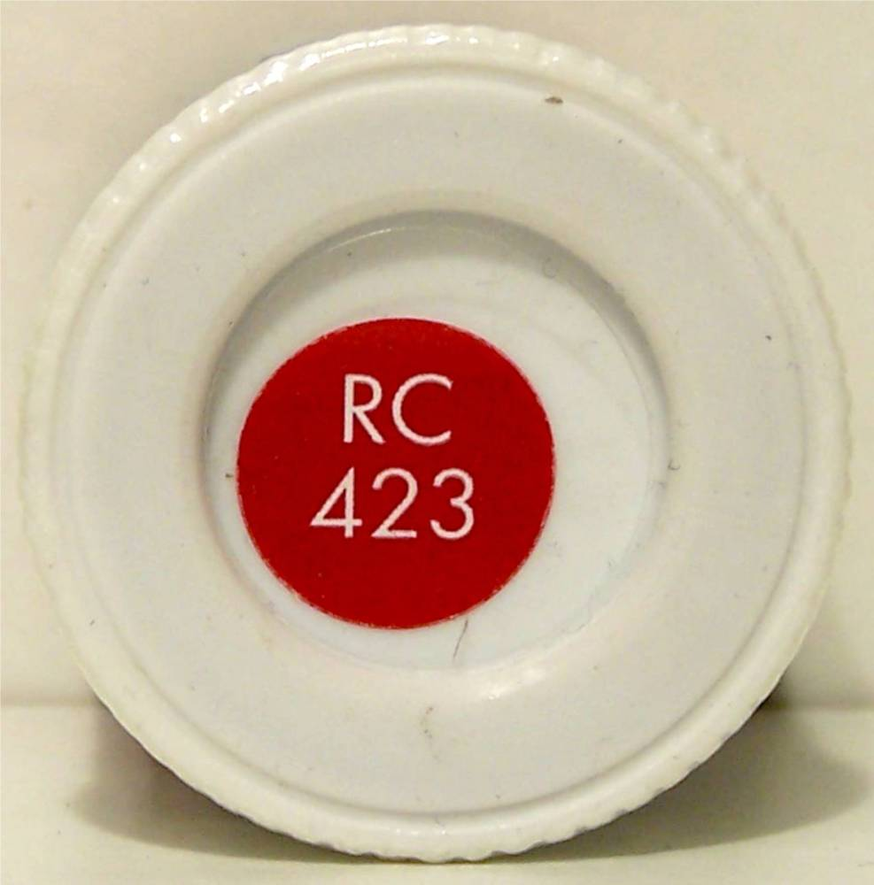 RC423 Carmine Matt - 14ml Acrylic Rail Colour Paint - AB2423