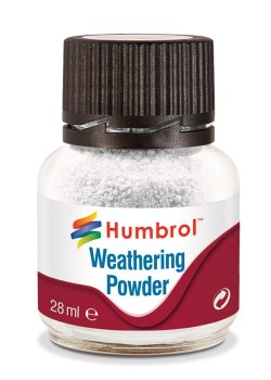 AV0002  Humbrol Weathering Powder White - 28ml