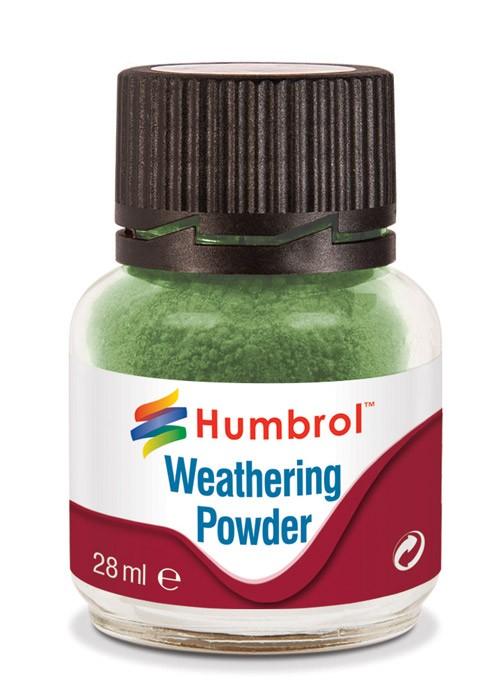 AV0005  Weathering Powder Chrome Oxide Green - 28ml  Humbrol