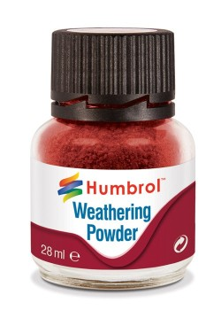AV0006   Weathering Powder Iron Oxide - 28ml Humbrol