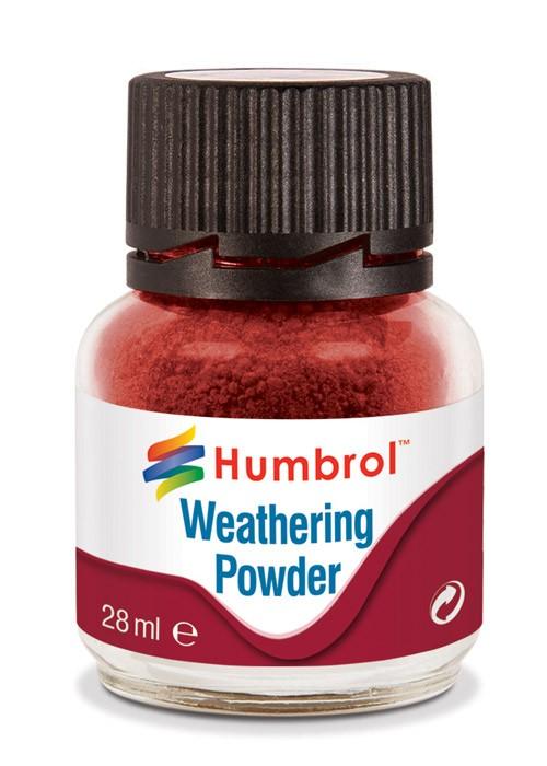 AV0006   Weathering Powder Iron Oxide - 28ml Humbrol