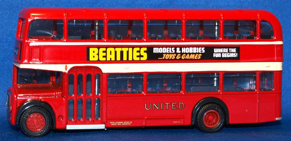 EFE 14102  Bristol F.L.F Lodekka 'United' 'Beaties' (1:76)