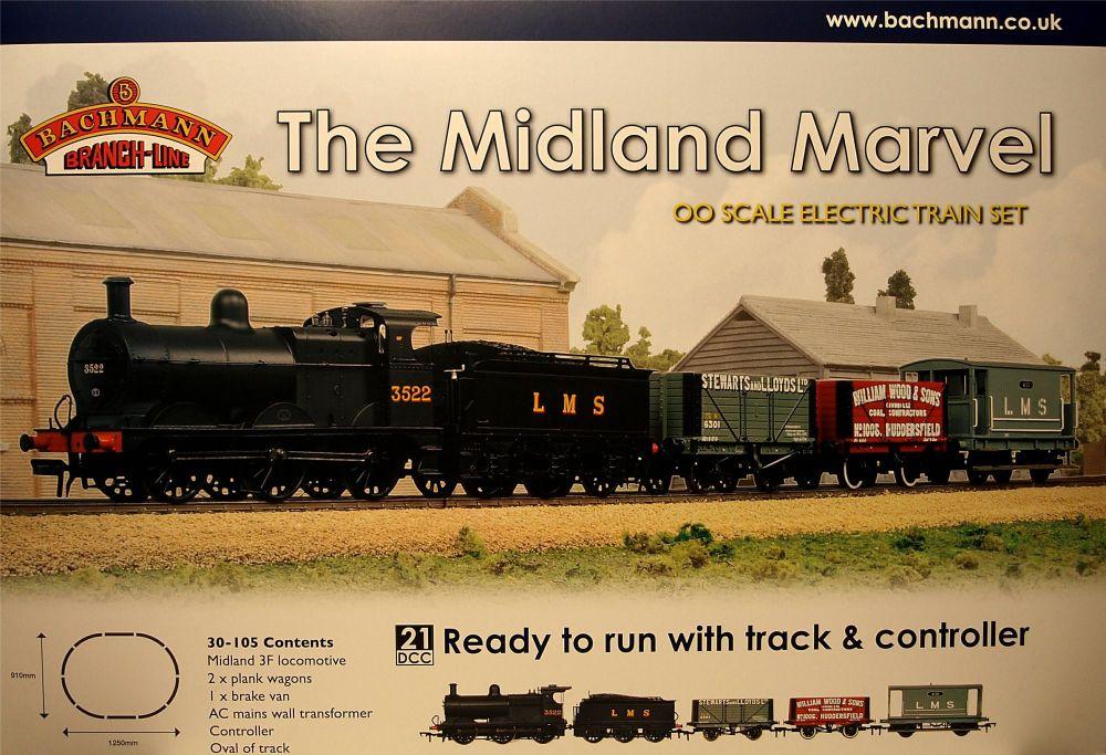 Bachmann 30-105  The Midland Marvel