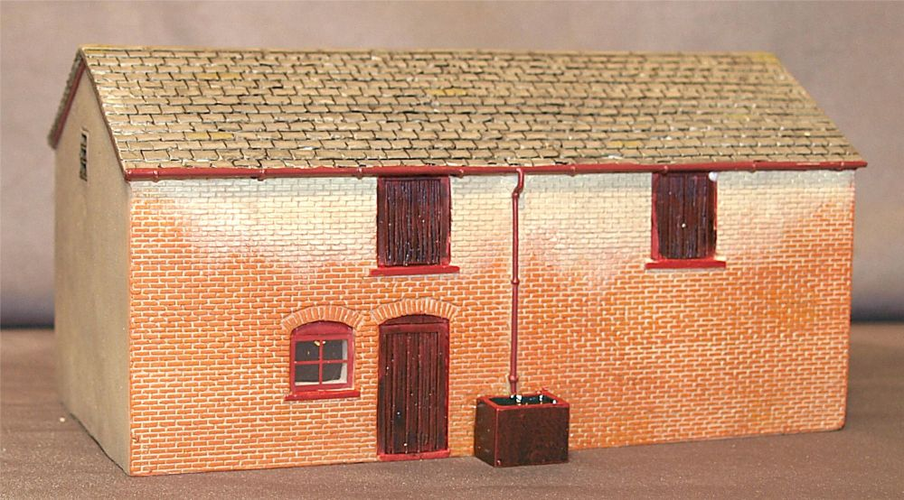 Scenecraft 44-160  Pendon Wanborough Barn 1:76