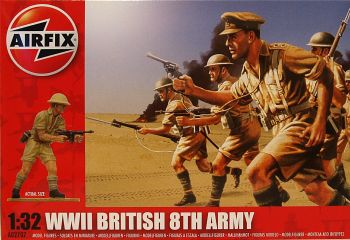Airfix A02707    WWII British 8th Army (14 pcs)