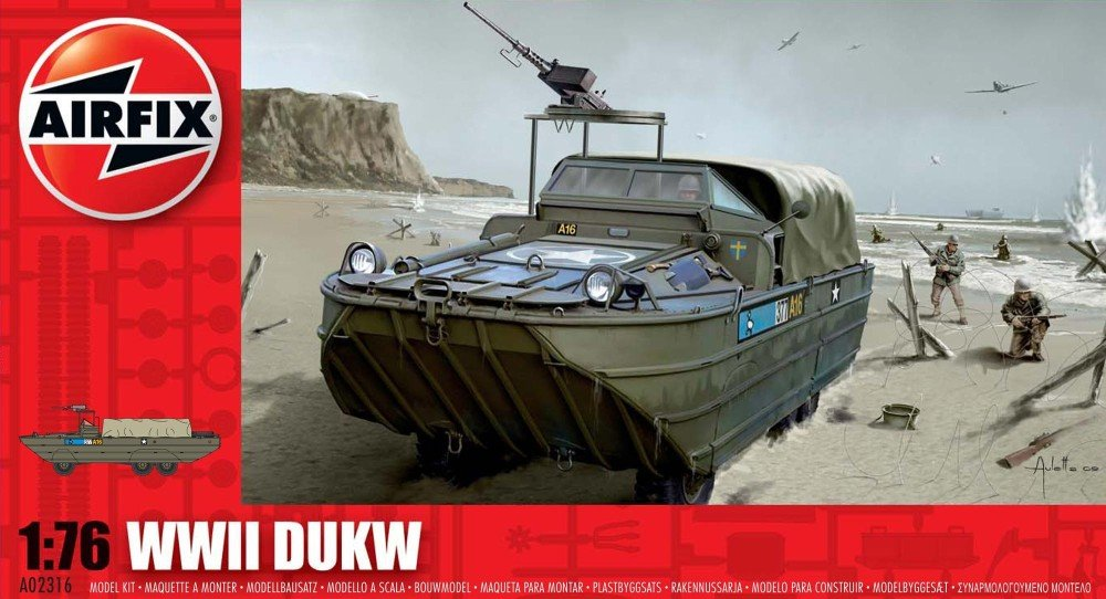 Airfix A02316   WWII DUKW (duck)