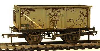 Bachmann 37253B  16 Ton Steel Mineral Wagon BR Grey Weathered