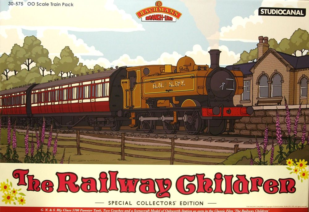 Bachmann 30-575 	The Railway Children (Train Pack) (Special edition)