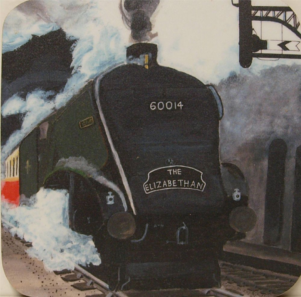 Silver Link & the Elizabethan train