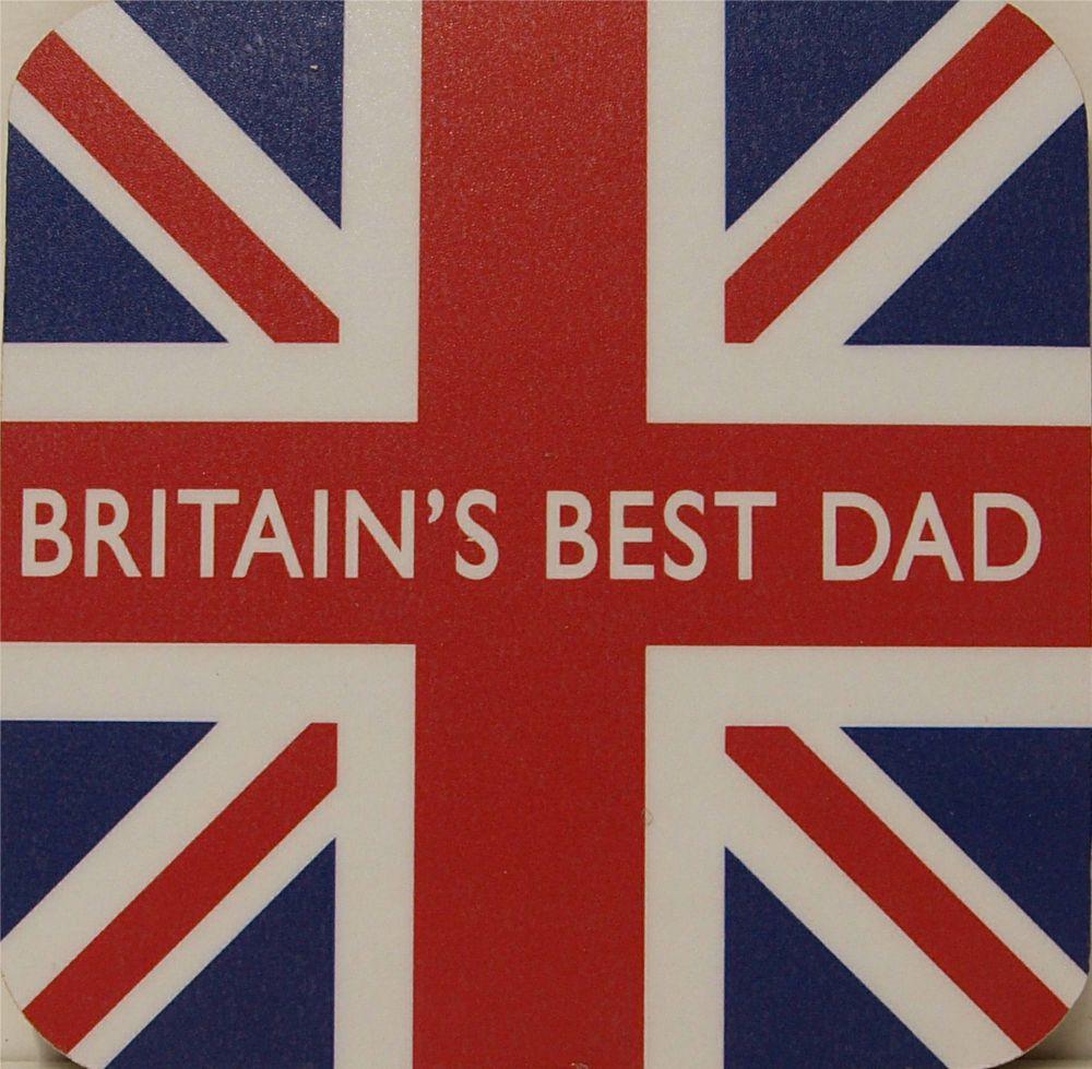 Britains Best Dad & Union Flag