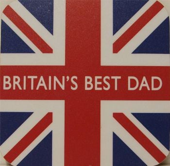 Britain's Best Dad & Union Flag