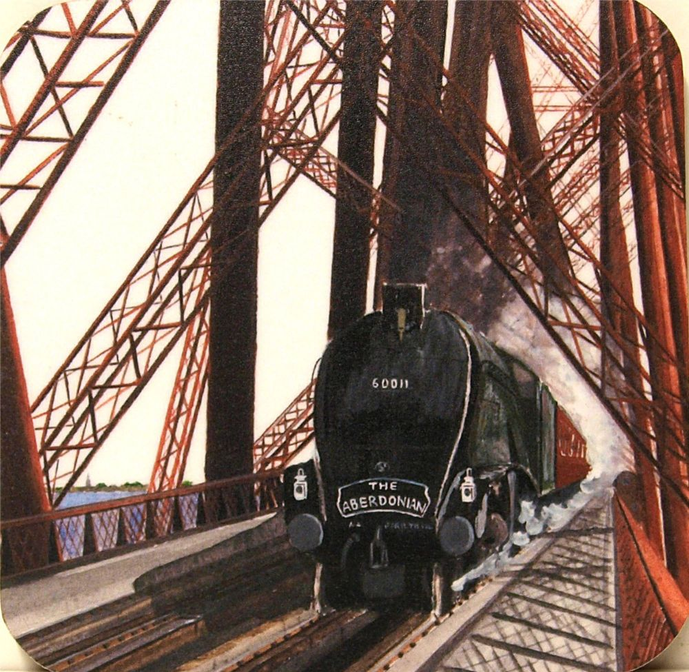 Empire of India & The Aberdonian train