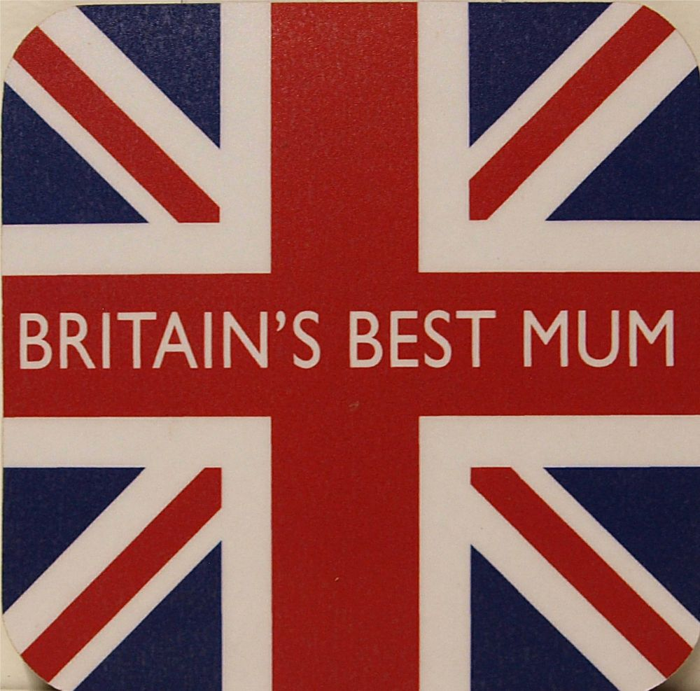 Britain's Best Mum & Union Flag