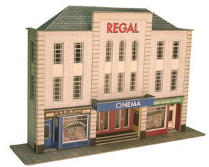 Metcalfe PO206  Low relief Cinema & Shops