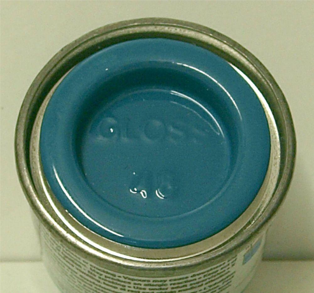 48 Humbrol  (Gloss) Enamel  Mediterranean Blue  AA0521