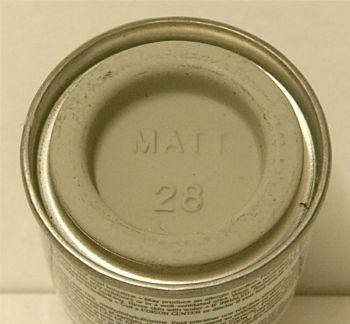 28  Humbrol (matt) Enamel   Camouflage Grey AA1496