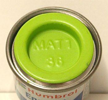 Humbrol 36  (matt) Enamel   Pastel Green AA0036