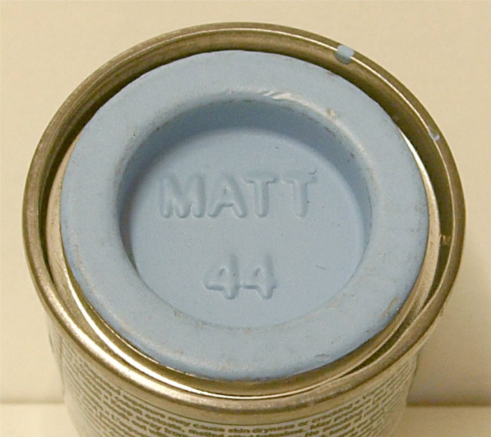 44 Humbrol (matt) Enamel  Pastel Blue AA0044