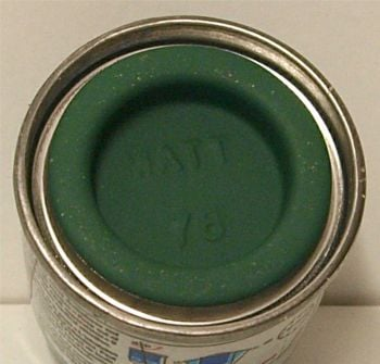 Humbrol 76  (matt) Enamel  Uniform Green  AA0847
