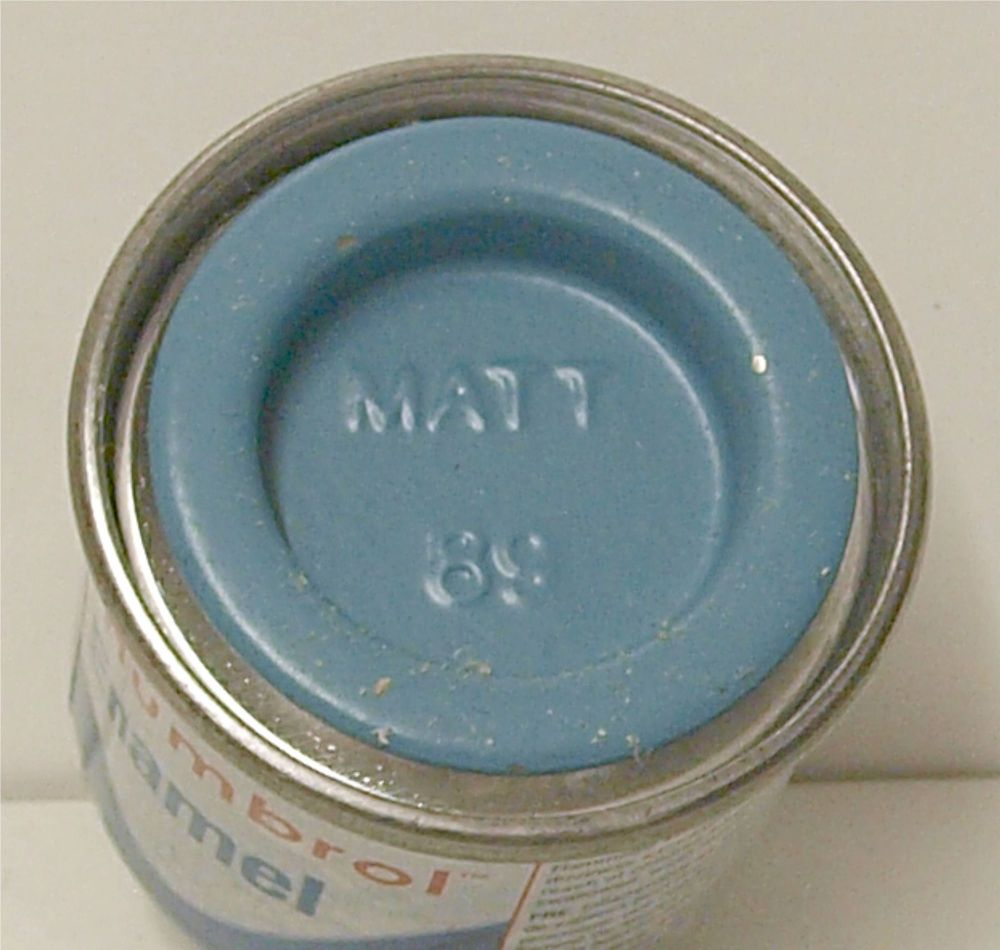 89 Humbrol (matt) Enamel  Middle Blue AA0984